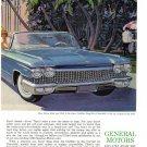 1960 CADILLAC Vintage Auto Print Ad