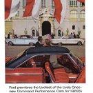1963 FORD Vintage Auto Print Ad