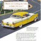1956 FORD FAIRLANE Vintage Auto Print Ad