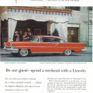 1957 LINCOLN Landau Vintage Auto Print Ad