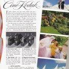 1939 CINE-KODAK 8 MOVIE CAMERA Vintage Print Ad
