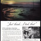 1940's CINE-KODAK MOVIE CAMERA Vintage Print Ad