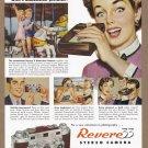 1950's REVERE CAMERA Vintage Print Ad