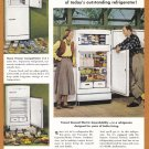 1948 G-E REFRIGERATOR Vintage Print Ad