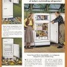 1948 G-E REFRIGERATOR Vintage Print Ad
