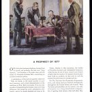 1936 TRAVELERS INSURANCE Vintage Print Ad