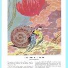 1946 TRAVELERS INSURANCE Vintage Print Ad