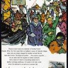 1960's QUEBEC Vintage CANADA Travel Print Ad