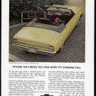 1964 CHEVY MALIBU Vintage Auto Print Ad