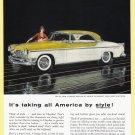 1955 CHRYSLER ST. REGIS Vintage Auto Print Ad