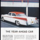 1956 CHRYSLER WINDSOR Vintage Auto Print Ad