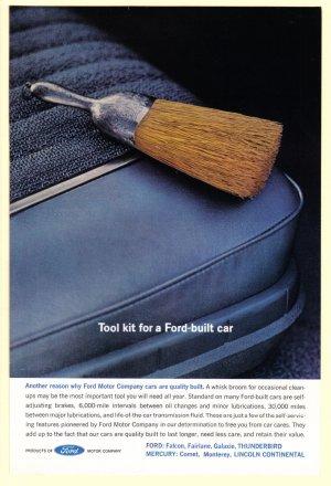 1960 FORD Auto Service Vintage Print Ad