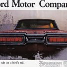 1965 FORD MOTOR CO. Vintage Auto Print Ad