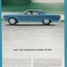 1961 LINCOLN CONTINENTAL Vintage Auto Print Ad