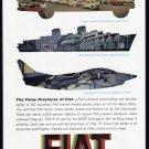 1962 FIAT Motor Co. Vintage Print Ad