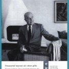 1959 DE BEERS DIAMONDS Vintage Magazine Print Ad