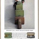 1964 SAMSONITE LUGGAGE Vintage Magazine Print Ad