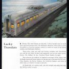 1953 BUDD Transportation Vintage Print Ad