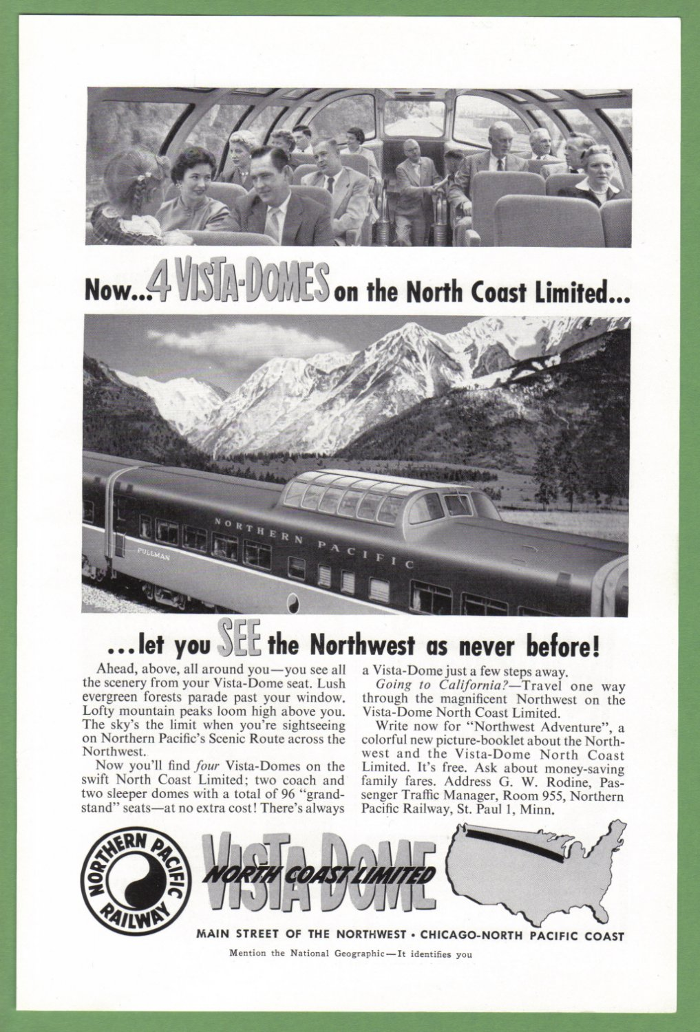 vintage northern pacific railroad photos