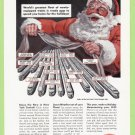 1949 NEW YORK CENTRAL RAILROAD Vintage Print Ad