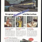 1946 NEW YORK CENTRAL RAILROAD Vintage Print Ad