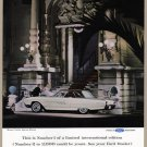 1963 THUNDERBIRD LANDAU Vintage Auto Print Ad