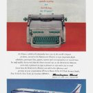 1959 AIR FRANCE / REMINGTON Vintage Print Ad