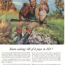 1946 AIRLINES OF UNITED STATES Vintage Print Ad