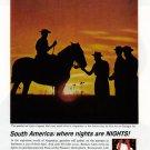 1963 PAN AM AIRLINES Vintage Print Ad