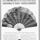 1960 PAN AM AIRLINES Vintage Print Ad