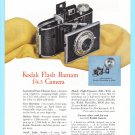 1948 KODAK CAMERA Bantam Flash Vintage Print Ad