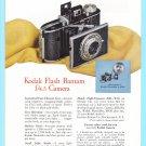 1948 KODAK CAMERA Bantam Flash Vintage Print Ad