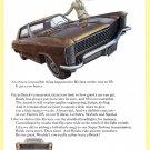 1965 BUICK Vintage Auto Print Ad