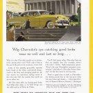1953 CHEVROLET Bel Air Vintage Auto Print Ad