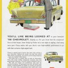 1958 CHEVROLET Vintage Auto Print Ad