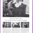 1959 CONN ORGAN Vintage Print Advertisement