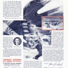 1937 EVEREADY BATTERY Original Vintage Print Ad