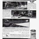 1940 EVEREADY BATTERIES Original Vintage Print Ad