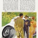 1934 GENERAL TIRES Vintage Print Ad