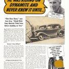 1938 GOODRICH TIRES Vintage Print Ad