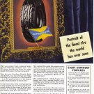 1936 GOODYEAR TIRES Vintage Print Ad
