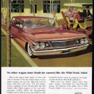 1960 PONTIAC SAFARI Vintage Auto Print Ad