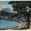 Vintage RIO DE JANEIRO Hand-Tinted Postcard