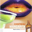 COINTREAU Margarita Collectible Liquor Print Ad