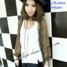 Leopard Print Long Sleeve Cardigan #10002