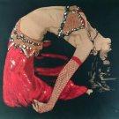 Original Batik Art Painting on Cotton, 'Belly Dancer' by Hamidi (90cm x 75cm)
