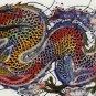 Original Batik Art Painting on Cotton, 'Warrior Dragon' by Agung (150cm x 45cm)