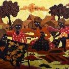 Original Batik Art Painting on Cotton, 'Batik Making' by Agung (150cm x 90cm)