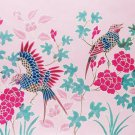 Original Batik Art Painting on Cotton, 'Oriental Bird' by Anfei (75cm x 45cm)
