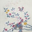 Original Batik Art Painting on Cotton, 'Oriental Birds' by Anfei (90cm x 150cm)